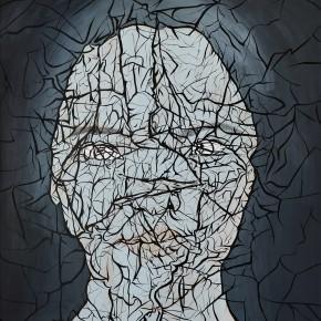 "Yue Minjun, ""Skin No.3"", acrylic on canvas, 200 x 240 cm, 2013"