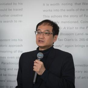 02 Curator Wang Jiayi 290x290 - Kai Men – Wang Tiande's Solo Exhibition Opened at Today Art Museum