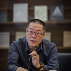 "02 Wang Huangsheng Director of CAFA Art Museum 290x290 - Press Conference for the ""Graduate Exhibition 2014"" Held in CAFAM Focused on the Growth of Young Artists"