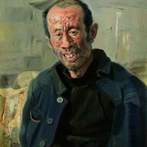 "02 Xin Dongwang ""Zhao Fugui"" 60 x 50 cm 2007 290x290 - ""Images of Heart – Professor Xin Dongwang's Memorial Service and Exhibition"" Held at Tsinghua University"