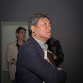 07 The Opening Cerremony of Kai Men 290x290 - Kai Men – Wang Tiande's Solo Exhibition Opened at Today Art Museum