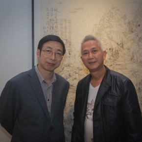 09 The Opening Cerremony of Kai Men 290x290 - Kai Men – Wang Tiande's Solo Exhibition Opened at Today Art Museum