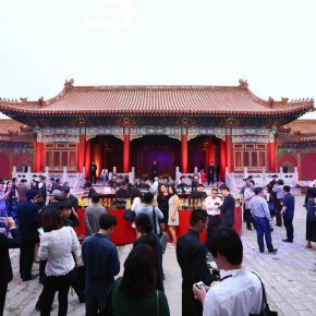 13 View of the vernissage 290x290 - Prizes of the 8th Award of Art China Eventually Announced at the Cining Palace of the Forbidden City
