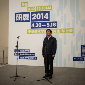 15 The Opening Ceremony of 2014 Graduate Exhibition of CAFA 290x290 - 2014 Graduate Exhibition of CAFA Unveiled at CAFA Art Museum