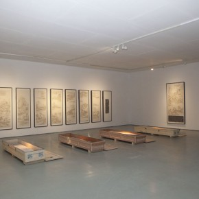 17 Gallery B:Tablet and Rubbings 1 290x290 - Kai Men – Wang Tiande's Solo Exhibition Opened at Today Art Museum