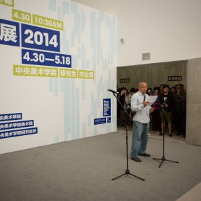 18 The Opening Ceremony of 2014 Graduate Exhibition of CAFA 290x290 - 2014 Graduate Exhibition of CAFA Unveiled at CAFA Art Museum