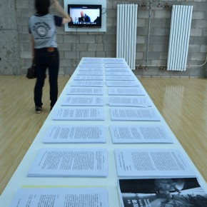 "27 Ground floor reading room1 290x290 - Xu Bing's ""Background Story: Dwelling in Fuchun Mountains"" Opened at Inside-Out Art Museum"