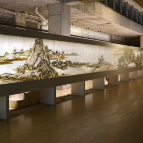 "31 Third floor exhibition hall presents ""Dwelling in Fuchun Mountains""1 290x290 - Xu Bing's ""Background Story: Dwelling in Fuchun Mountains"" Opened at Inside-Out Art Museum"