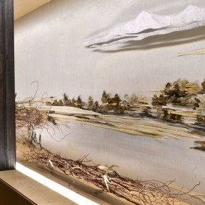 "33 Third floor exhibition hall presents ""Dwelling in Fuchun Mountains"" back1 290x290 - Xu Bing's ""Background Story: Dwelling in Fuchun Mountains"" Opened at Inside-Out Art Museum"