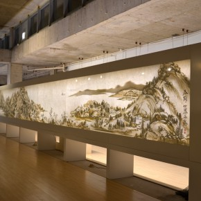 "34 Third floor exhibition hall presents ""Dwelling in Fuchun Mountains""1 290x290 - Xu Bing's ""Background Story: Dwelling in Fuchun Mountains"" Opened at Inside-Out Art Museum"