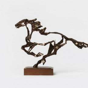 Li Ming Black Horse 2003 sculpture 42x30x12cm 290x290 - The Image of China – Exhibition of Contemporary Chinese Painting and Sculptures on Display at the National Art Museum of China