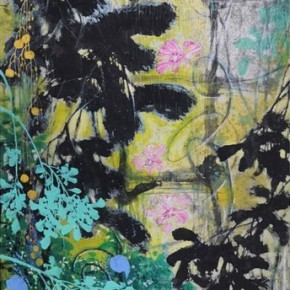 """Li Zhenming Images of Lattice Windows 2012 Ink and color on paper 138x68cm 290x290 - """"Ink Painting - Academic Exchange Exhibition"""" to be Presented in Taipei and Nanjing"""
