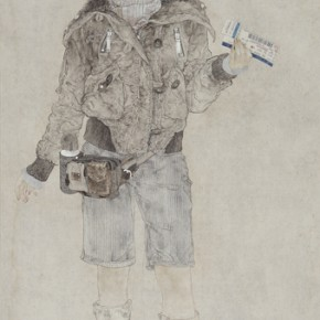 Luo Hanlei Journey 2007 Ink on paper 180x99cm 290x290 - The Image of China – Exhibition of Contemporary Chinese Painting and Sculptures on Display at the National Art Museum of China