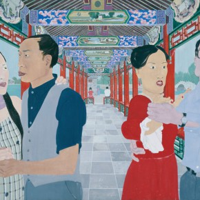Ma Xiaoteng A Scene of Spring 146cm x240cm Acrylic on Canvas 2011 290x290 -  Reread –  Ma Xiaoteng Solo Exhibition Featuring His Paintings at Today Art Museum