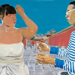 Ma Xiaoteng Confession from a Last Emperor Like Man 80×180cm Acrylic on Canvas 2010 290x290 -  Reread –  Ma Xiaoteng Solo Exhibition Featuring His Paintings at Today Art Museum