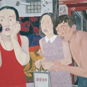 Ma Xiaoteng Female History Acrylic on canvas 180cm x 240cm 2014 290x290 -  Reread –  Ma Xiaoteng Solo Exhibition Featuring His Paintings at Today Art Museum