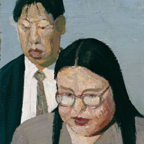 Ma Xiaoteng On the Square 36cm x 26.8cm Acrylic on canvas 1995 290x290 -  Reread –  Ma Xiaoteng Solo Exhibition Featuring His Paintings at Today Art Museum