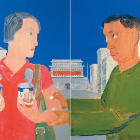 Ma Xiaoteng On the Street 210×460cm Acrylic on Canvas 2007 290x290 -  Reread –  Ma Xiaoteng Solo Exhibition Featuring His Paintings at Today Art Museum