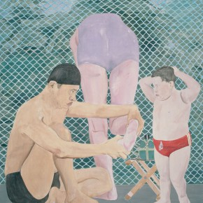 Ma Xiaoteng Sunday Afternoon Acrylic on Canvas 210cm x 185cm 2011 2014 290x290 -  Reread –  Ma Xiaoteng Solo Exhibition Featuring His Paintings at Today Art Museum