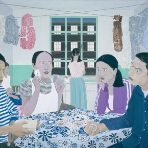 Ma Xiaoteng Weaving Girls 205x290cm Acrylic on Canvas 2012 290x290 -  Reread –  Ma Xiaoteng Solo Exhibition Featuring His Paintings at Today Art Museum