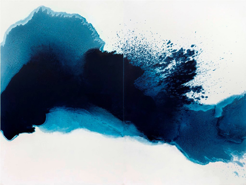 Mao Lizi, Abstract, oil on canvas, 130 x 195 cm x 2, 2012