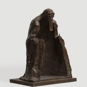 Wu Weishan Man is an Integral Part of Nature sculpture 90x60x52cm 290x290 - The Image of China – Exhibition of Contemporary Chinese Painting and Sculptures on Display at the National Art Museum of China