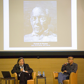 "CAFA Lecture: Yan Peiming Talked about ""My History of Art"""