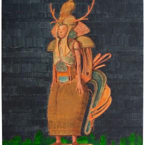 "02 Tang Hui ""Group of Deer No.1"" acrylic on linen 55 x 75.5 cm 2014 290x290 - Tang Hui"