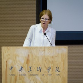 "03 Karen Smith addressed at the symposium 290x290 - ""The Collective Eye"" Symposium Held at CAFA Art Museum"