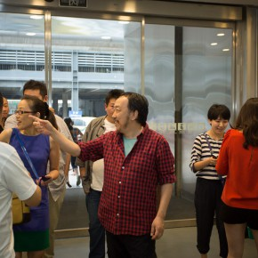 """03 The Opening Ceremony of Wu Yi's Solo Exhibition """"A Carefree Excursion"""" 290x290 - Wu Yi's Solo Exhibition """"A Carefree Excursion"""" Opened at the Hive Center for Contemporary Art"""