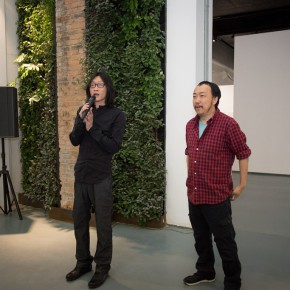"""04 The Opening Ceremony of Wu Yi's Solo Exhibition """"A Carefree Excursion"""" 290x290 - Wu Yi's Solo Exhibition """"A Carefree Excursion"""" Opened at the Hive Center for Contemporary Art"""