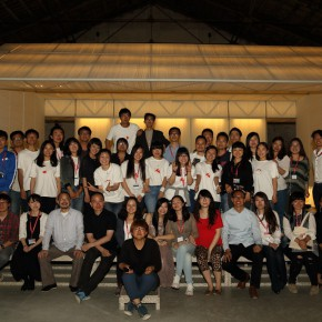 04 Volunteer awarding ceremony 290x290 - Pavilion of China for the International Architecture Exhibition - La Biennale di Venezia 2014 Inaugurated