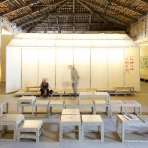 05 Literature gallery – gallery for Sheng Zhang Shou CangSprout Growth Restraint Reservation photo courtesy of Macro Cappelletti 290x290 - Pavilion of China for the International Architecture Exhibition - La Biennale di Venezia 2014 Inaugurated