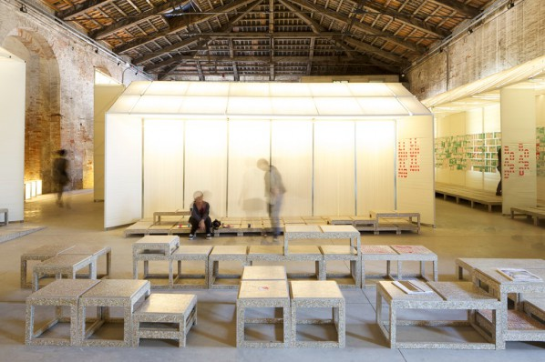 05 Literature gallery – gallery for Sheng-Zhang-Shou-Cang(Sprout-Growth-Restraint- Reservation), photo courtesy of Macro Cappelletti