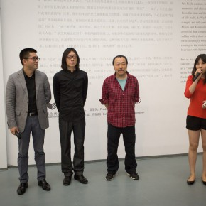 """05 The Opening Ceremony of Wu Yi's Solo Exhibition """"A Carefree Excursion"""" 290x290 - Wu Yi's Solo Exhibition """"A Carefree Excursion"""" Opened at the Hive Center for Contemporary Art"""