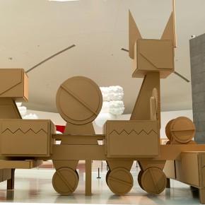 "06 Tang Hui ""Noble Machine"" honeycomb cardboard 600 x 1000 x 400 cm 2014 290x290 - Tang Hui"
