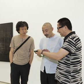 "07 Artist Hu Qinwu and His Friends 290x290 - PIFO Gallery presents group exhibition ""2014' The 7th Abstract Exhibition"""