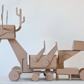 "08 Tang Hui, ""A Deer Robot"" (model), 2013"