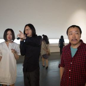 """08 The Opening Ceremony of Wu Yi's Solo Exhibition """"A Carefree Excursion"""" 290x290 - Wu Yi's Solo Exhibition """"A Carefree Excursion"""" Opened at the Hive Center for Contemporary Art"""