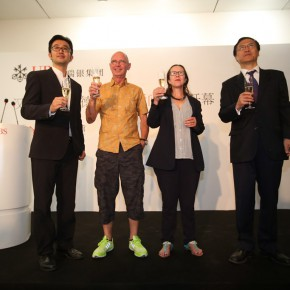 "09 Honored guests raised a glass 290x290 - ""Momentous"" – Swiss Photographer Hannes Schmid's Inaugural Exhibition in Asia Debuted at Today Art Museum"