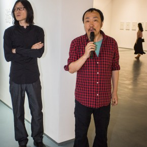 """10 The Opening Ceremony of Wu Yi's Solo Exhibition """"A Carefree Excursion"""" 290x290 - Wu Yi's Solo Exhibition """"A Carefree Excursion"""" Opened at the Hive Center for Contemporary Art"""