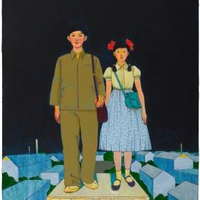 "101 Tang Hui ""Twilight"" acrylic on canvas 50 x 60 cm 2009  290x290 - Tang Hui"