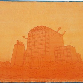 "106 Tang Hui, ""The Monument"" No.2, acrylic on canvas, 150 x 100 cm, 2008"