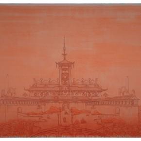 "110 Tang Hui ""Floor Lamps"" acrylic on canvas 300 x 220 cm 2008 290x290 - Tang Hui"