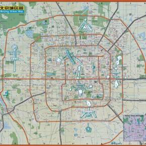 "112 Tang Hui ""Beijing New Landmark Map"" acrylic on paper 80 x 76 cm 2008  290x290 - Tang Hui"
