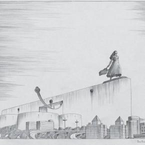 "113 Tang Hui ""Labor Altar No.2"" drawing 50 x 58 cm 2008 290x290 - Tang Hui"
