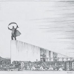 "114 Tang Hui ""Labor Altar No.1"" drawing 50 x 58 cm 2008 290x290 - Tang Hui"