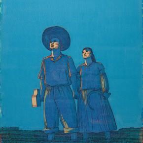 "117 Tang Hui ""Blue Sky No.2"" acrylic on canvas 150 x 100 cm 2007 290x290 - Tang Hui"