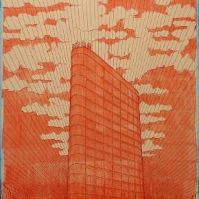 """124 Tang Hui """"Dazhong Electronics"""" acrylic on canvas 150 x 100 cm 2007 290x290 - Tang Hui"""