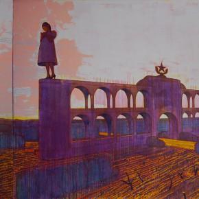 "128 Tang Hui ""A Pregnant Woman and a Gentleman"" 400 x 220 cm 2006 290x290 - Tang Hui"